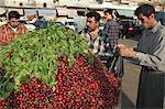 Fruit market, Aleppo (Haleb), Syria, Middle East