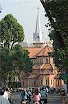 Notre Dame Cathedral, Ho Chi Minh City (Saigon), Vietnam, Southeast Asia, Asia