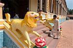 Cao Dai Temple, Tay Ninh, north of Ho Chi Minh City (Saigon), South Vietnam, Southeast Asia, Asia
