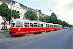 Tram, Leopoldstadt, Vienne, Autriche, Europe