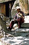 Tarahumara musician, Mexico, North America