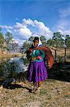 Tarahumara woman, Mexico, North America