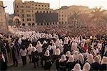 Menschenmassen auf christlicher Feiertag von Ostern Sonntag, Lima, Peru, Südamerika