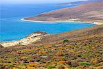 L'île de Samothrace (Samothrace), Égée, en Grèce, Europe