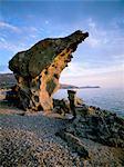 Thassos (Thassos), îles de l'Égée, îles grecques, Grèce, Europe