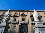 Palazzo Vescovile, Palermo, island of Sicily, Italy, Mediterranean, Europe