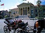 Teatro Massimo, Palermo, island of Sicily, Italy, Mediterranean, Europe