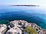 Île de Favignana, îles Egadi, Sicile, Italie, Méditerranée, Europe