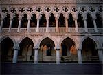 Extérieur du Palais des Doges, Venise, UNESCO World Heritage Site, Veneto, Italie, Europe