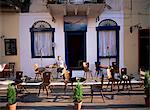 Café, Nauplie, Péloponnèse, Grèce, Europe
