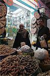 Einheimischen an die Würze zu vermarkten, Aswan, Ägypten, Nordafrika, Afrika
