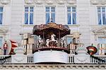Detail of Hotel d'Angleterre at Christmas, Kogens Nytorv, Copenhagen, Denmark, Scandinavia, Europe