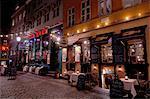 Nyhavn à Noël, Copenhague, Danemark, Scandinavie, Europe