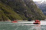 Garibaldi Fjord, Darwin National Park, Tierra del Fuego, Patagonia, Chile, South America