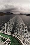 Antarctique Dream, canal de Beagle, Tierra del Fuego, Patagonie, au Chili, en Amérique du Sud