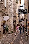 Saint Paul de Vence, Alpes Maritimes, Provence, Côte d'Azur, France, Europe