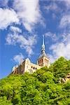 Mont Saint Michel, Normandie, France