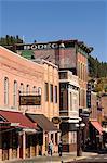 Main Street, Deadwood, Black Hills, Dakota du Sud, États-Unis d'Amérique, l'Amérique du Nord