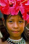 Jeunes Indiens Embera, Parc National de Soberania, Panama amerique centrale