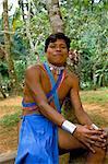 Indiens Embera, Parc National de Soberania, Panama amerique centrale