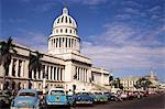 Capitolo, zone centrale, la Havane, Cuba, Antilles, Amérique centrale
