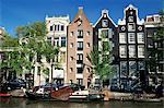 Prinsengracht, Amsterdam, Pays-Bas (Hollande), Europe