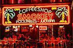 Coffeeshop, Rembrandplein, Amsterdam, Pays-Bas (Hollande), Europe