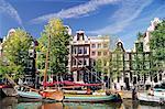 Keizersgracht, Amsterdam, Pays-Bas (Hollande), Europe
