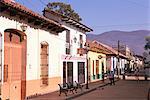 Avenida 20 de Noviembre, San Cristobal de las Casas, la province du Chiapas, au Mexique, en Amérique du Nord