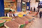 Bazar, vieille ville, Sana ' a, Yémen, Moyen-Orient