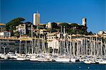Vieille ville et touristique du port, Cannes, Alpes-Maritimes, Provence, Côte d'Azur, French Riviera, France, Méditerranée, Europe