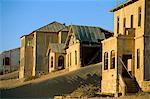 Diamond mining ghost town, Kolmanskop, Namib Desert, Luderitz, Namibia, Africa