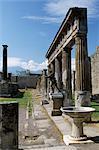 Pompéi, UNESCO World Heritage Site, Campanie, Italie, Europe