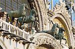 Chevaux de Saint-Marc, Venise, Vénétie, Italie, Europe