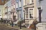 A street in Chelsea, London, England, United Kingdom, Europe