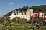 Der Chateau de Villandry, UNESCO-Weltkulturerbe, Indre-et-Loire, Loire-Tal, Frankreich, Europa