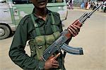 Soldier in Colombo, Sri Lanka, Asia