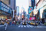 Times Square, New York, New York État, États-Unis d'Amérique, l'Amérique du Nord