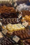 Chocolate shop at the Schokoladen museum, Cologne, North Rhine Westphalia, Germany, Europe