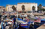 Ajaccio harbour, Corsica, France, Mediterranean, Europe