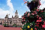 Town Hall, George Square, Glasgow, Scotland, United Kingdom, Europe