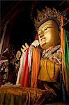 Meru Nyingba monastère, Bharkor, Lhassa, Tibet, Chine, Asie