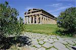 Temple de Neptune, Paestum, Campanie, Italie