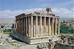Temple de Bacchus, Baalbek, Liban, Moyen-Orient