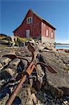 Sommaroy, west of Tromso, Norway, Scandinavia, Europe