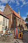 Église de St. Johns, Riga, Lettonie, pays baltes, Europe