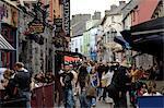 Quay Street, Galway, comté de Galway, Connacht, Irlande, Europe