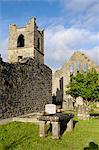 Église et Abbaye de Cong, comté de Mayo, Connacht, Irlande, Europe