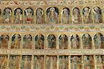 Fresques à l'intérieur de l'Église princière, Cour d'Arges, Curtea de Arges, Valachie, Roumanie, Europe