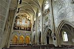 Intérieur de l'Europe de Transylvanie, en Roumanie, cathédrale, Sibiu, évangélique
